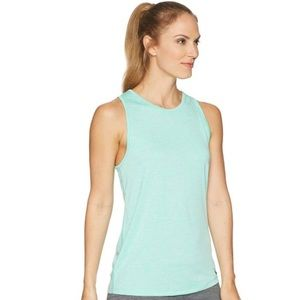 Green Nike Women's Dry Fit Training Tank